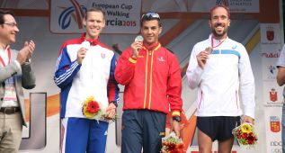 Miguel Ángel López gana los 20 km de la Copa de Europa