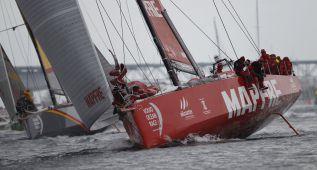 El Mapfre, entre los tres primeros en la vuelta a Europa