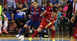 El Barcelona vence a ElPozo en el primer choque de semifinales