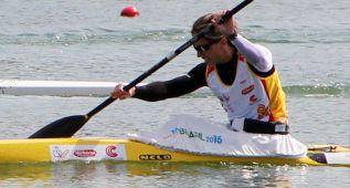 Teresa Portela se cuelga el bronce en el K-1 200