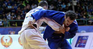 El judo español en blanco en el World Masters de Rabat