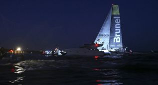 El 'Mapfre' finaliza la séptima etapa en segunda posición