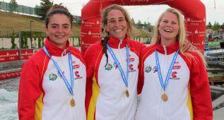 Bronce de Nuria Vilarrubla en C1 y oro del equipo femenino