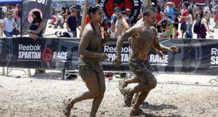 Cristina Pedroche se embarró en la Spartan Race con su novio
