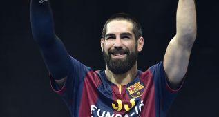 Karabatic, a dos partidos de un adiós a lo grande del Barcelona