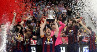 El Barça revalida el título (27-26) en el adiós de Karabatic