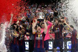 El Barça revalida el título(27-26) en el adiós de Karabatic