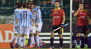 España cae ante Argentina (1-0) y jugará en cuartos con Holanda