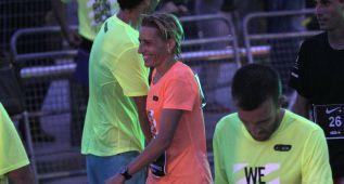 Marta Domínguez acabó 2ª en la nocturna de Barcelona