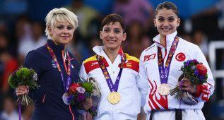 Los karatecas Sandra Sánchez y Quintero, primeros oros
