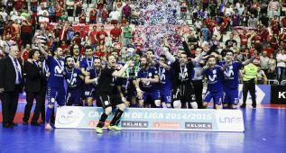 La magia de Ricardinho guía al Inter a su décima Liga LNFS