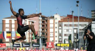 Pichardo se estrena en longitud en Bilbao con 7,81 metros