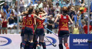 España gana a Sudáfrica (2-0) y luchará por ser quinta