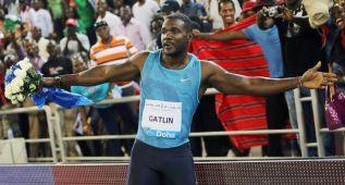 Gatlin no hará 100 en los Trials porque ya es fijo para Pekín