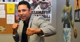 De la Hoya considera volver a boxear tras retirarse en 2008