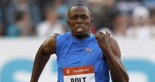 Bolt se examina en los 100 metros y Gatlin corre 200