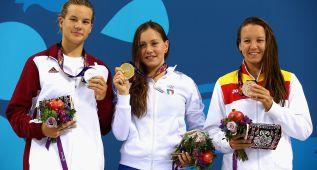 La nadadora Marina Castro, 2º bronce en 1.500 metros