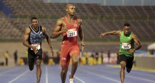 Powell gana los 100 metros; Blake, fuera del Mundial