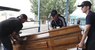 Los 3 alpinistas fallecidos en Kirguizistán, enterrados hoy