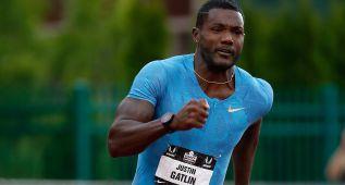 Gatlin hace 19.57 en 200 y lanza un desafío total a Usain Bolt