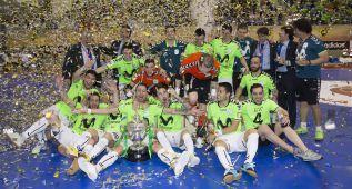 El 'nuevo' Movistar Inter, cabeza de serie en la Copa de Europa