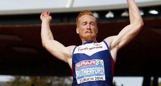 Rutherford, oro olímpico, prepara los Mundiales en su jardín