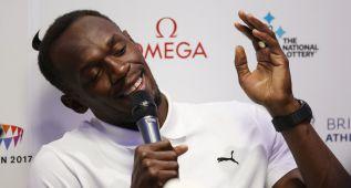 """Bolt: """"Estaré en Pekín y correré en 100, 200 y 4x100 metros"""""""