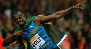 Bolt vuela en su regreso: 9.87 en 100 con viento en contra
