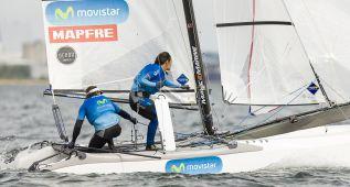 Regatistas españoles compiten en el escenario olímpico