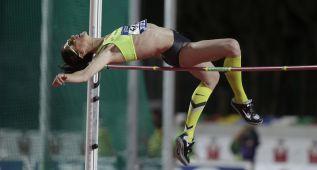 Beitia saltó 1,98, falló en el récord (2,03) y sumó su 11º oro