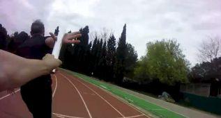 Los atletas del Campeonato de España llevan cámaras