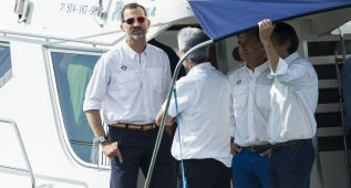Debut del Rey Felipe VI con el renovado 'Aifos' en ORC1