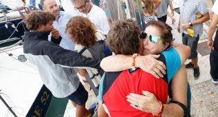 Jacinto, de 84 años, rescatado tras cinco horas en el mar