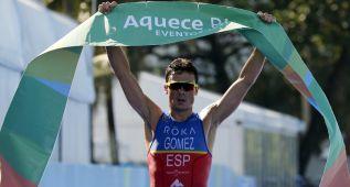 Gómez Noya vence sobre el próximo circuito olímpico