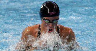 Jessica Vall, fuera de la final de los 100 metros braza