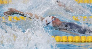La natación china sorprende en la jornada matutina