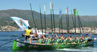 El líder Hondarribia se da un paseo en la regata de Boiro