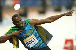 Usain Bolt lidera el equipo de Jamaica en el Mundial de Pekín