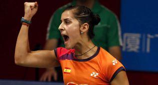 Carolina Marín, a semifinales del Mundial con casta y talento