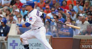 Kyle Schwarber es un gigante para los Chicago Cubs