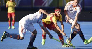 España pierde contra Holanda en el EuroHockey