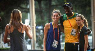 Usain Bolt y Gatlin ya aparecen en las series de 100 metros