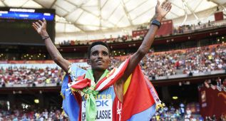 El eritreo Ghebreslassie, en maratón, primer oro en Pekín
