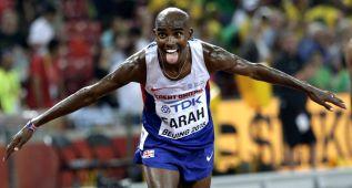Farah resiste el ataque keniano y triunfa en los 10.000 metros