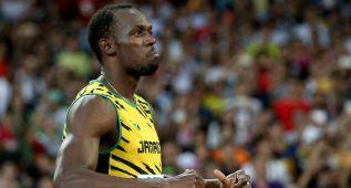Usain Bolt (9.96) pasa pero roza el KO en las semifinales de 100