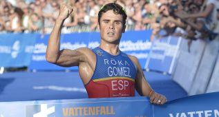 Gómez Noya barre en Estocolmo y encarrila su 5º título mundial