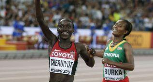 Cheruiyot hace valer su velocidad terminal ante Burka