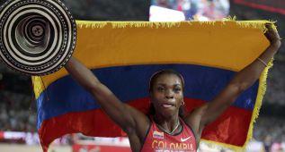 Ibargüen, la reina de Colombia revalida el oro en triple salto