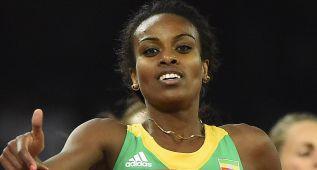 Dibaba amenaza otra vez el récord del 1.500 femenino