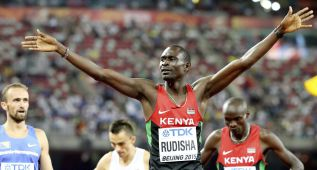 El 'héroe' Rudisha recupera la hegemonía mundial de 800